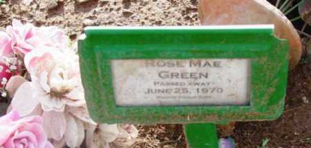 GREEN, ROSE MAE - Yavapai County, Arizona | ROSE MAE GREEN - Arizona Gravestone Photos
