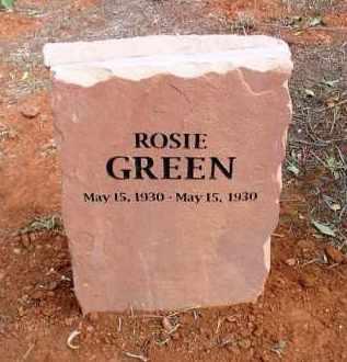 GREEN, ROSIE - Yavapai County, Arizona   ROSIE GREEN - Arizona Gravestone Photos