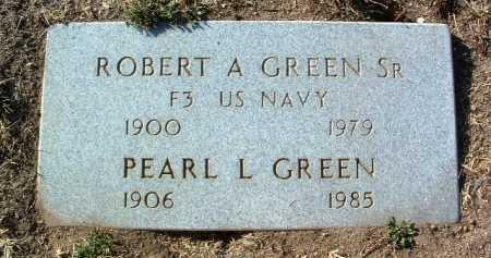 GREEN, ROBERT A., SR. - Yavapai County, Arizona | ROBERT A., SR. GREEN - Arizona Gravestone Photos