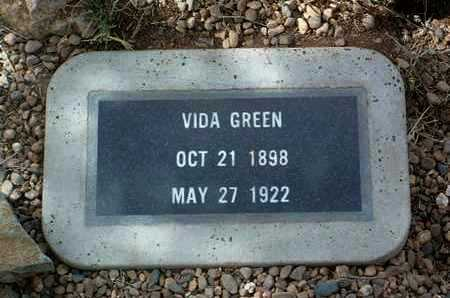 GREEN, VIDA - Yavapai County, Arizona | VIDA GREEN - Arizona Gravestone Photos