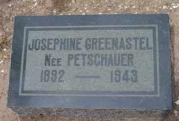 GREENASTEL, JOSEPHINE - Yavapai County, Arizona | JOSEPHINE GREENASTEL - Arizona Gravestone Photos