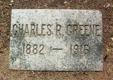 GREENE, CHARLES RUFUS - Yavapai County, Arizona | CHARLES RUFUS GREENE - Arizona Gravestone Photos