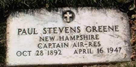 GREENE, PAUL STEVENS - Yavapai County, Arizona   PAUL STEVENS GREENE - Arizona Gravestone Photos