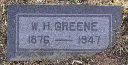 GREENE, WILLIAM HENRY - Yavapai County, Arizona | WILLIAM HENRY GREENE - Arizona Gravestone Photos