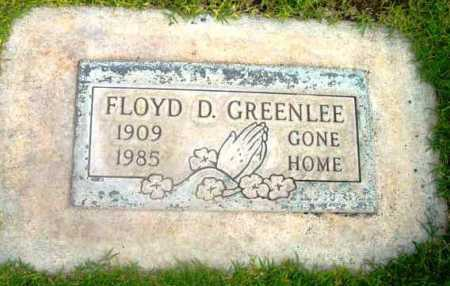 GREENLEE, FLOYD D. - Yavapai County, Arizona | FLOYD D. GREENLEE - Arizona Gravestone Photos