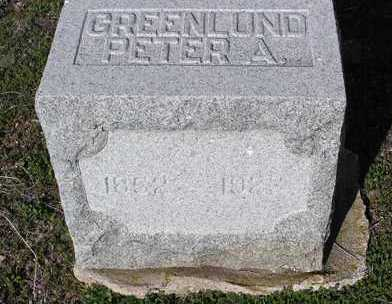 GREENLUND, PETER A. - Yavapai County, Arizona | PETER A. GREENLUND - Arizona Gravestone Photos