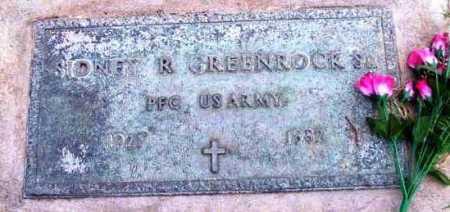 GREENROCK, SIDNEY R. - Yavapai County, Arizona | SIDNEY R. GREENROCK - Arizona Gravestone Photos