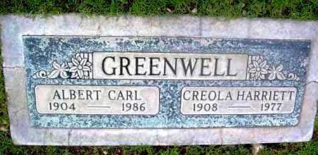 GREENWELL, CREOLA HARRIETT - Yavapai County, Arizona | CREOLA HARRIETT GREENWELL - Arizona Gravestone Photos