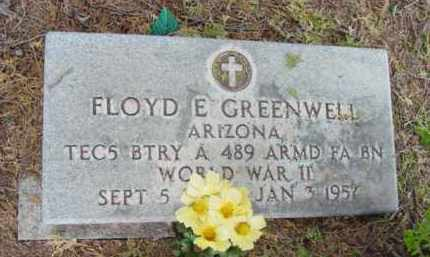 GREENWELL, FLOYD EUGENE - Yavapai County, Arizona   FLOYD EUGENE GREENWELL - Arizona Gravestone Photos