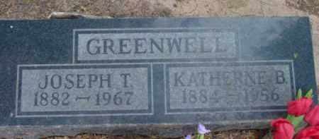 WARREN GREENWELL, KATHERNE BEATRICE - Yavapai County, Arizona | KATHERNE BEATRICE WARREN GREENWELL - Arizona Gravestone Photos
