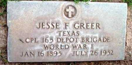 GREER, JESSE FLOYD - Yavapai County, Arizona | JESSE FLOYD GREER - Arizona Gravestone Photos
