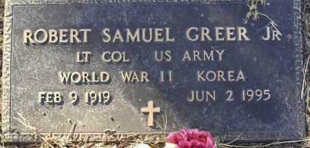 GREER, ROBERT SAMUEL, JR. - Yavapai County, Arizona   ROBERT SAMUEL, JR. GREER - Arizona Gravestone Photos
