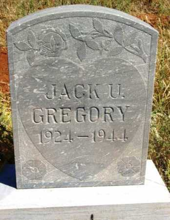 GREGORY, JACK UDELL - Yavapai County, Arizona | JACK UDELL GREGORY - Arizona Gravestone Photos