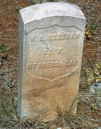 GRESHAM, WILLIAM A. - Yavapai County, Arizona   WILLIAM A. GRESHAM - Arizona Gravestone Photos