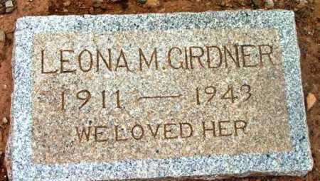 GIRDNER, LEONA M. - Yavapai County, Arizona | LEONA M. GIRDNER - Arizona Gravestone Photos
