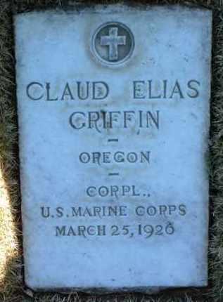 GRIFFIN, CLAUD ELIAS - Yavapai County, Arizona | CLAUD ELIAS GRIFFIN - Arizona Gravestone Photos