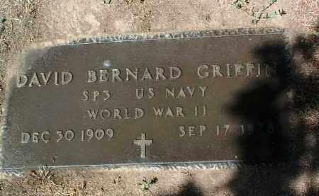 GRIFFIN, DAVID BERNARD - Yavapai County, Arizona | DAVID BERNARD GRIFFIN - Arizona Gravestone Photos