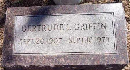 GRIFFIN, GERTRUDE L. - Yavapai County, Arizona | GERTRUDE L. GRIFFIN - Arizona Gravestone Photos