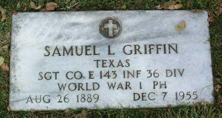 GRIFFIN, SAMUEL L. - Yavapai County, Arizona | SAMUEL L. GRIFFIN - Arizona Gravestone Photos