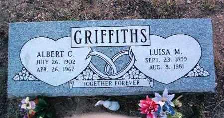 GRIFFITHS, LUISA M. - Yavapai County, Arizona | LUISA M. GRIFFITHS - Arizona Gravestone Photos