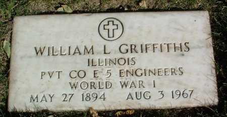 GRIFFITHS, WILLIAM LESLIE - Yavapai County, Arizona | WILLIAM LESLIE GRIFFITHS - Arizona Gravestone Photos