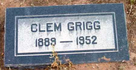GRIGG, CALEB CLEM - Yavapai County, Arizona   CALEB CLEM GRIGG - Arizona Gravestone Photos