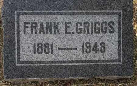 GRIGGS, FRANK EUGENE - Yavapai County, Arizona | FRANK EUGENE GRIGGS - Arizona Gravestone Photos