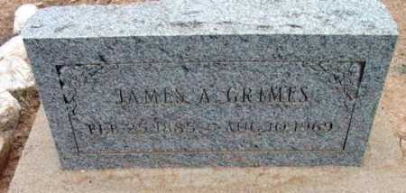 GRIMES, JAMES A. - Yavapai County, Arizona | JAMES A. GRIMES - Arizona Gravestone Photos