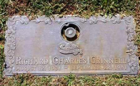 GRINNELL, RICHARD CHARLES - Yavapai County, Arizona   RICHARD CHARLES GRINNELL - Arizona Gravestone Photos