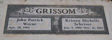 SCHRIVER GRISSOM, K. - Yavapai County, Arizona | K. SCHRIVER GRISSOM - Arizona Gravestone Photos