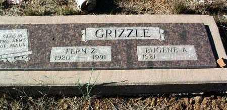 GRIZZLE, EUGENE ALLEN - Yavapai County, Arizona | EUGENE ALLEN GRIZZLE - Arizona Gravestone Photos