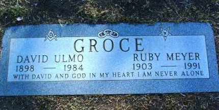 GROCE, DAVID ULMO - Yavapai County, Arizona | DAVID ULMO GROCE - Arizona Gravestone Photos