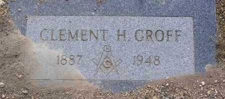 GROFF, CLEMENT HESS - Yavapai County, Arizona | CLEMENT HESS GROFF - Arizona Gravestone Photos