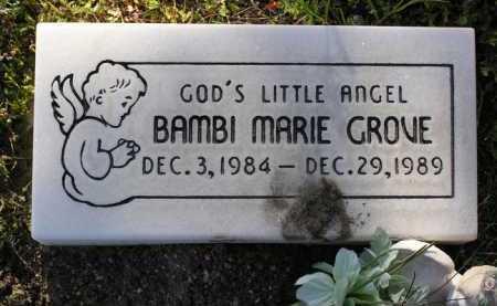 GROVE, BAMBI MARIE - Yavapai County, Arizona | BAMBI MARIE GROVE - Arizona Gravestone Photos