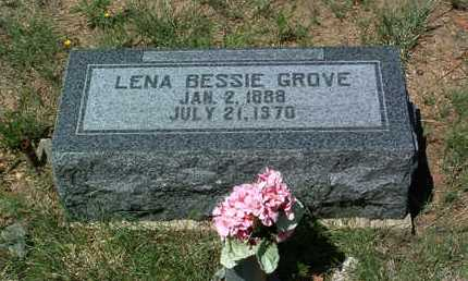 GROVE, LENA BESSIE - Yavapai County, Arizona | LENA BESSIE GROVE - Arizona Gravestone Photos