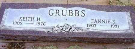 GRUBBS, FANNIE S. - Yavapai County, Arizona | FANNIE S. GRUBBS - Arizona Gravestone Photos