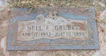 GRUBBS, NELL F. - Yavapai County, Arizona   NELL F. GRUBBS - Arizona Gravestone Photos
