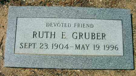 GRUBER, RUTH E. - Yavapai County, Arizona | RUTH E. GRUBER - Arizona Gravestone Photos