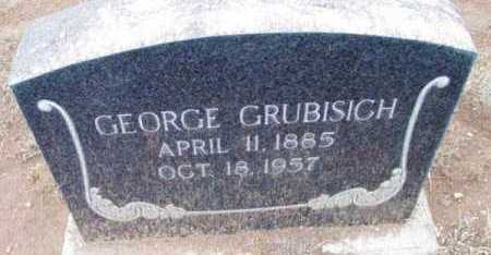 GRUBISICH, GEORGE S. - Yavapai County, Arizona | GEORGE S. GRUBISICH - Arizona Gravestone Photos