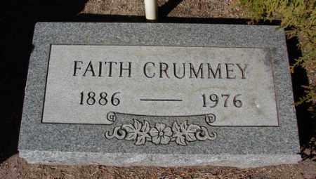 WARNER CRUMMEY, FAITH - Yavapai County, Arizona | FAITH WARNER CRUMMEY - Arizona Gravestone Photos