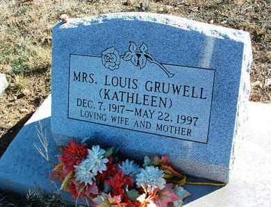 GRUWELL, KATHLEEN E. - Yavapai County, Arizona | KATHLEEN E. GRUWELL - Arizona Gravestone Photos