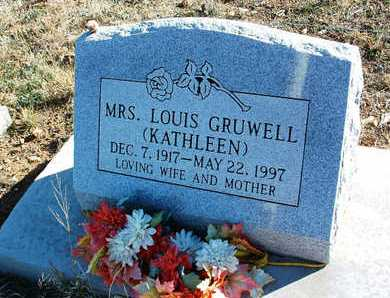 TERRELL GRUWELL, KATHLEEN - Yavapai County, Arizona | KATHLEEN TERRELL GRUWELL - Arizona Gravestone Photos