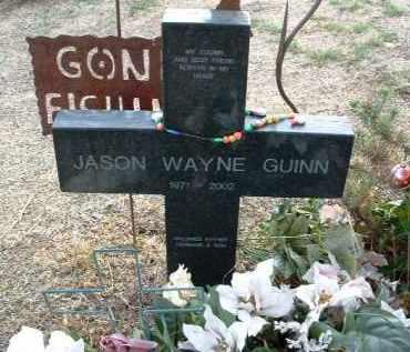 GUINN, JASON WAYNE - Yavapai County, Arizona   JASON WAYNE GUINN - Arizona Gravestone Photos