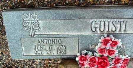 GUISTI, ANTONIO - Yavapai County, Arizona | ANTONIO GUISTI - Arizona Gravestone Photos