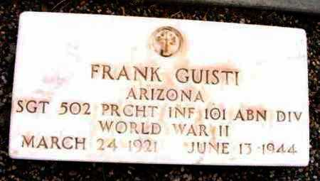 GUISTI, FRANK - Yavapai County, Arizona | FRANK GUISTI - Arizona Gravestone Photos