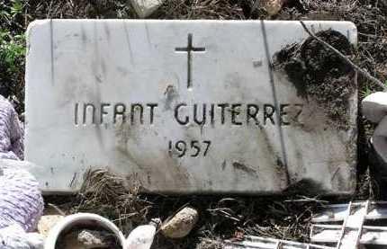 GUITERREZ, INFANT - Yavapai County, Arizona | INFANT GUITERREZ - Arizona Gravestone Photos