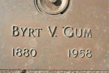 WEST GUM, BYRTHA VIOLA - Yavapai County, Arizona | BYRTHA VIOLA WEST GUM - Arizona Gravestone Photos