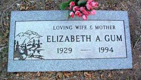 HEATH GUM, ELIZABETH ANN - Yavapai County, Arizona | ELIZABETH ANN HEATH GUM - Arizona Gravestone Photos