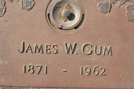 GUM, JAMES WILLIAM - Yavapai County, Arizona | JAMES WILLIAM GUM - Arizona Gravestone Photos