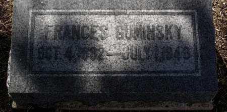 HANULA GUMINSKY, FRANCES - Yavapai County, Arizona | FRANCES HANULA GUMINSKY - Arizona Gravestone Photos